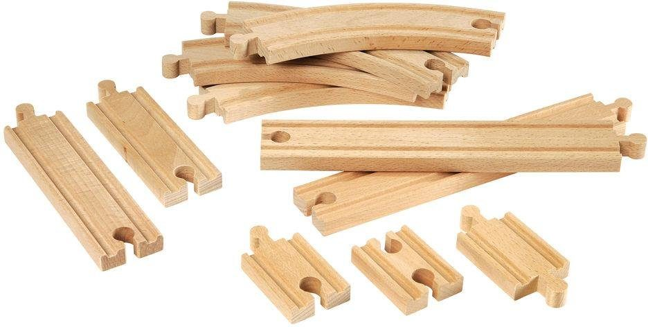 BRIO® Holzschienen, »Brio WORLD Kleines Schienensortiment«