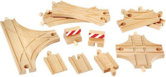 BRIO® Gleise-Set »BRIO® Ergänzungsset Holzschienensystem, »Brio WORLD Schienen und Weichensortiment«