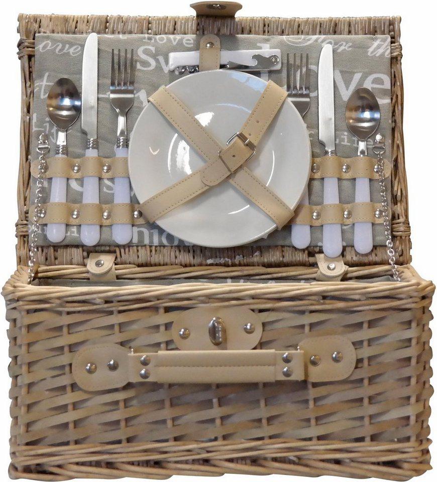home affaire picknickkoffer inkl geschirr besteck pfeffer salzstreuer wein ffner online. Black Bedroom Furniture Sets. Home Design Ideas