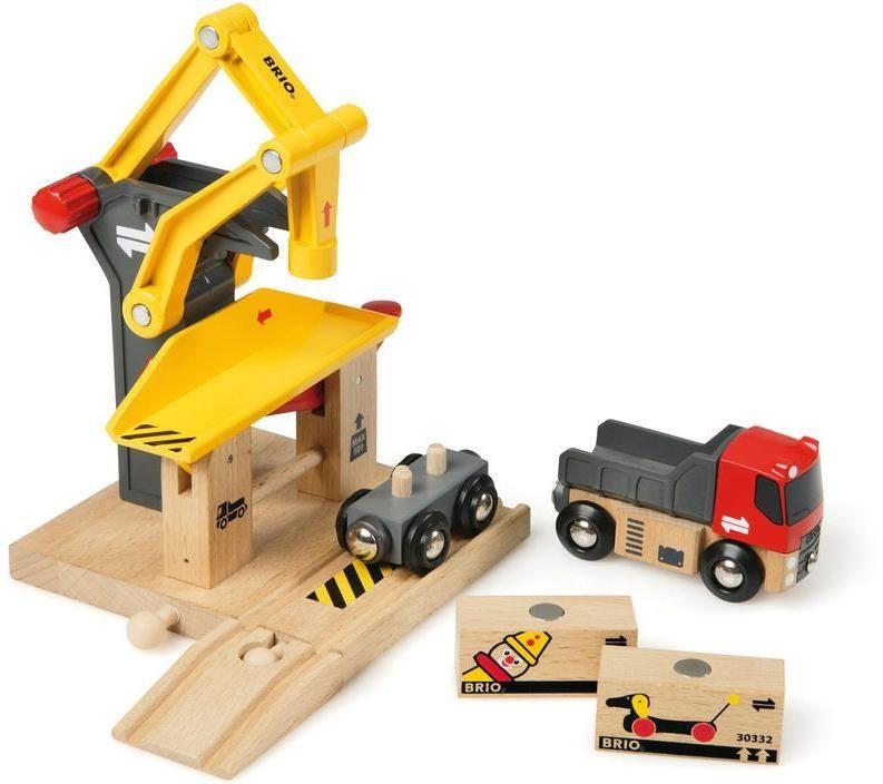 Brio Zubehör für Spielzeugeisenbahn, »Brio WORLD Frachtverladestation«