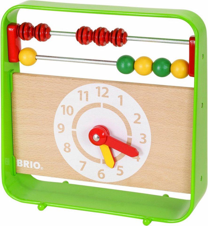 BRIO® Lernspielzeug,  Lernuhr mit Zählrahmen