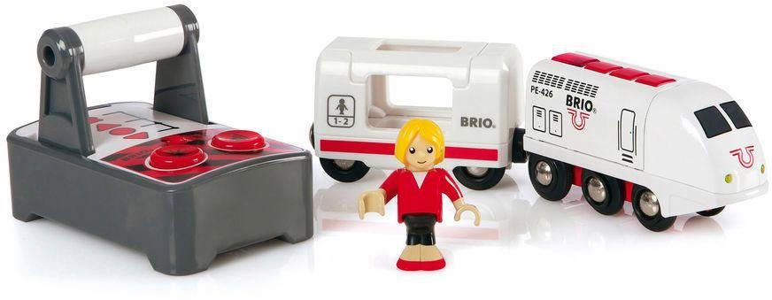 BRIO® Spielzeugeisenbahn mit Licht und Soundfunktion, »BRIO® WORLD IR Express Reisezug«