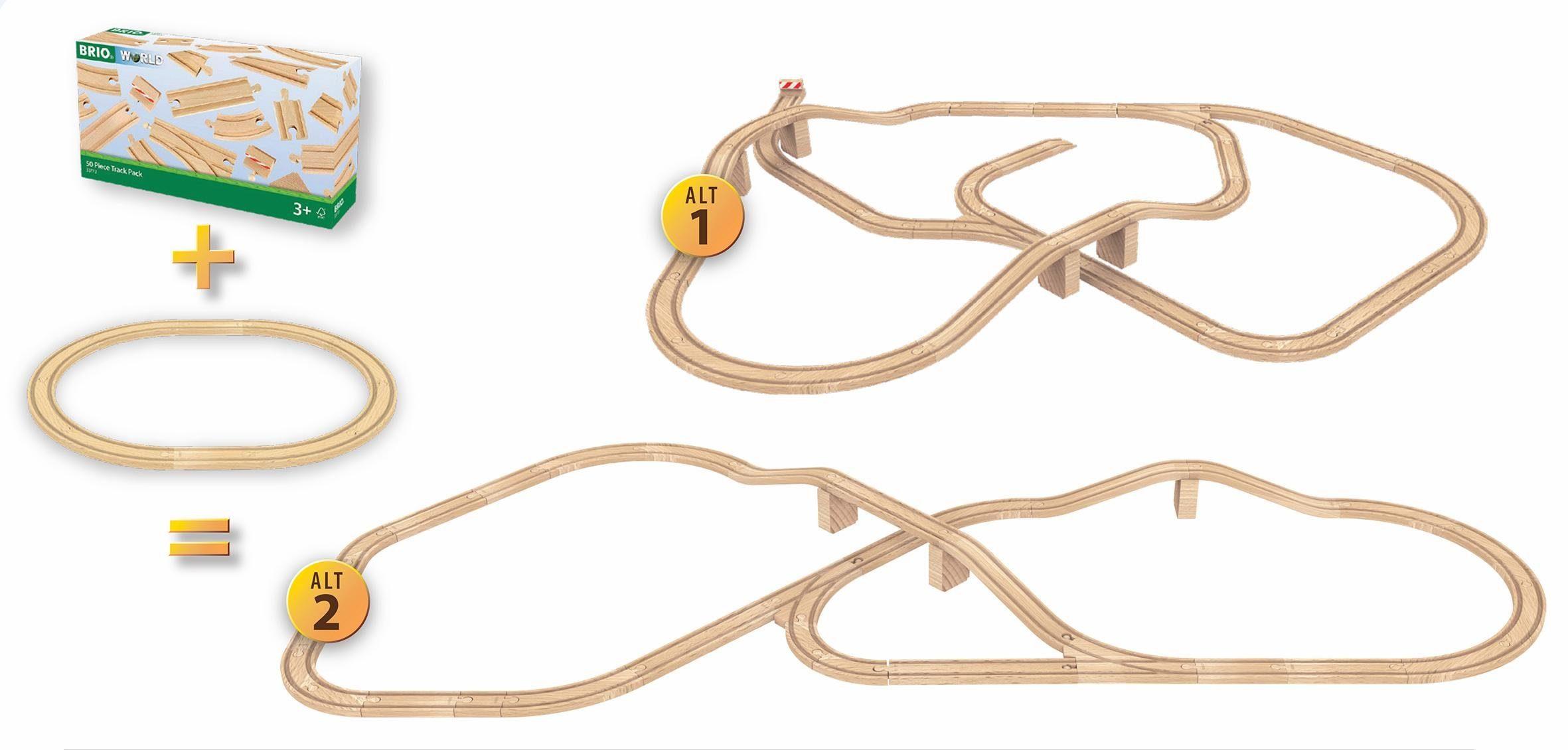 BRIO® Holzschienenset, »BRIO® WORLD Großes Schienensortiment«