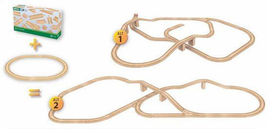 BRIO® Gleise-Set »BRIO® Holzschienenset, »BRIO® WORLD Großes Schienensortiment«