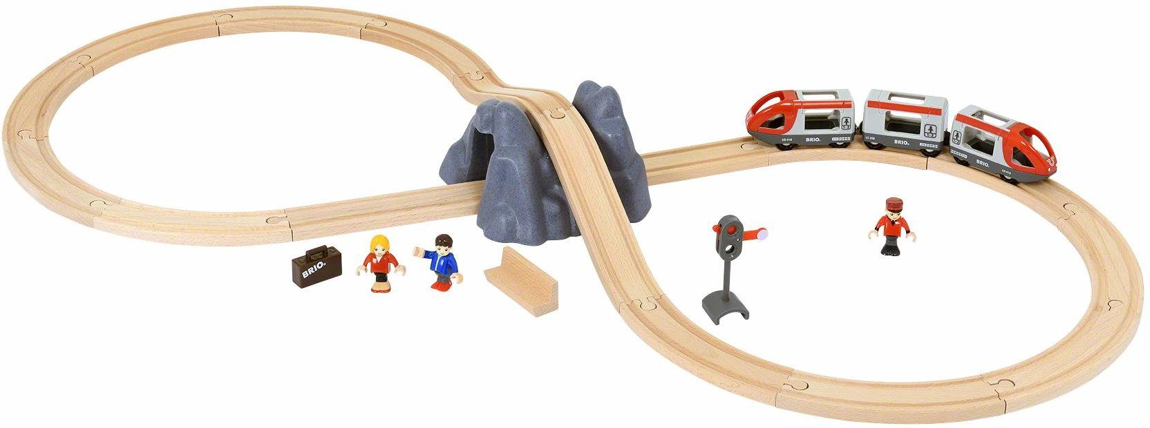 BRIO® Spielset mit Spielzeugeisenbahn, »BRIO® WORLD Eisenbahn Starter Set A «