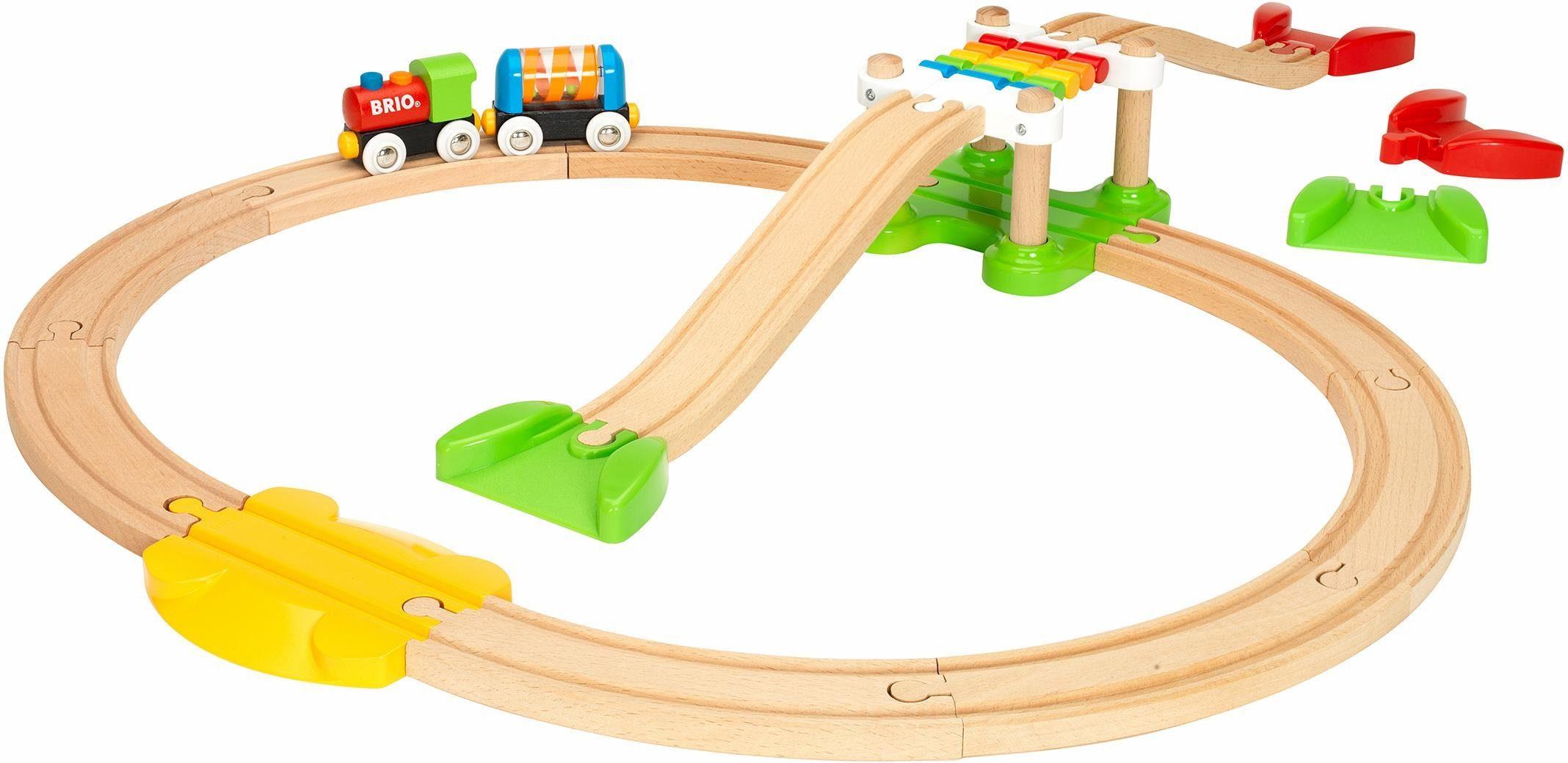 BRIO® Holzeisenbahn Starter Set, »BRIO® WORLD Mein erstes Bahn Spiel Set«