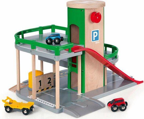 BRIO® Spiel-Parkhaus »Brio WORLD Parkhaus, Straßen & Schienen«