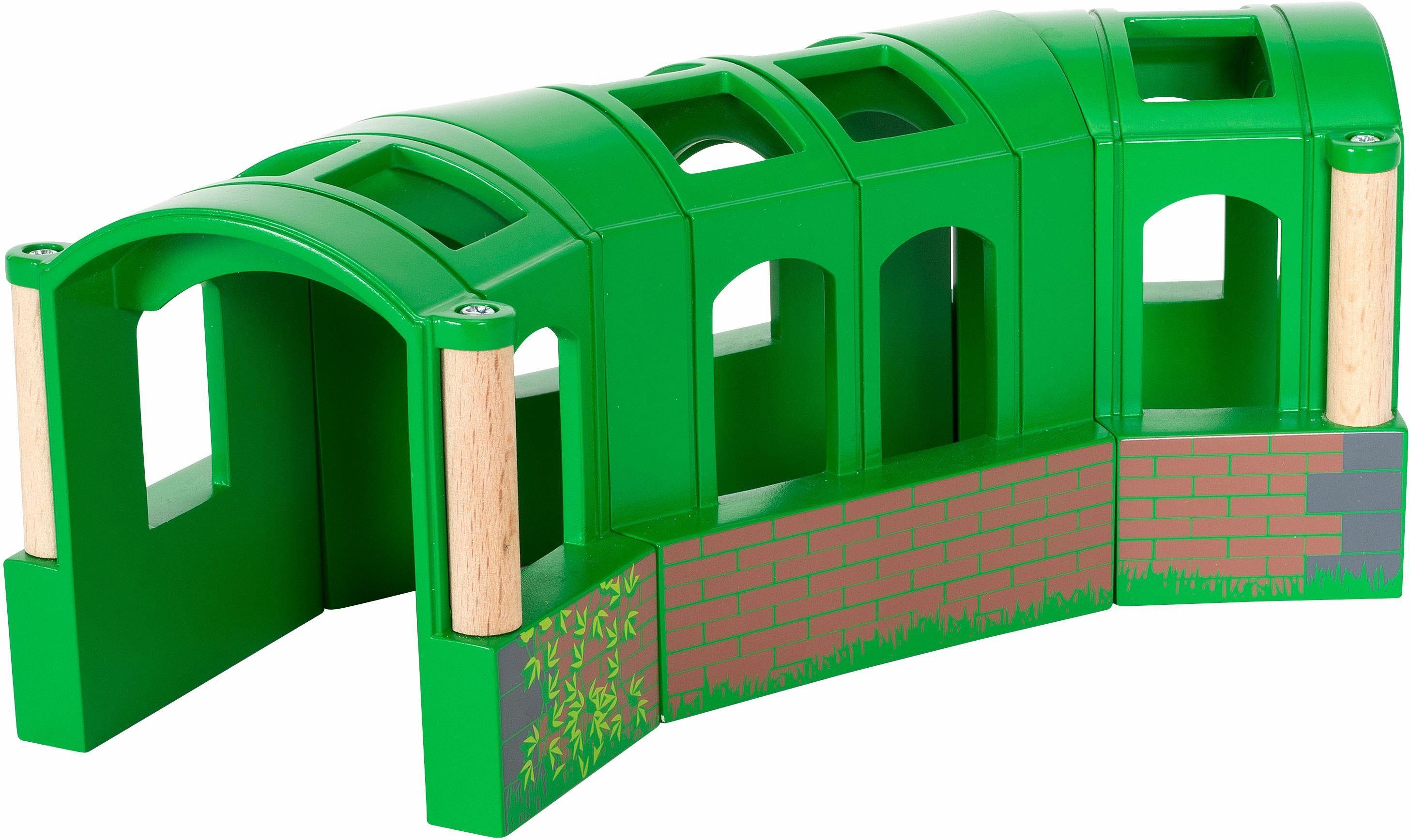 BRIO® Zubehör für Spielzeugeisenbahn, »BRIO® WORLD Flexibler Tunnel«