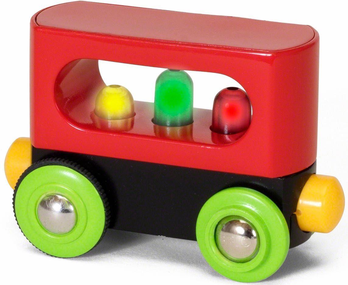 BRIO® Eisenbahnwaggon mit Lichtfunktion, »BRIO® WORLD Mein erster Waggon mit Licht«