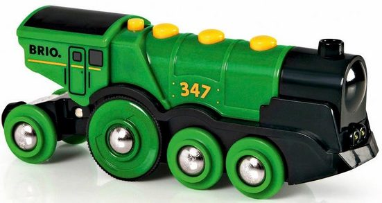 BRIO® Spielzeug-Eisenbahn »BRIO® WORLD Grüner Gustav Batterielok«, mit Soundfunktion