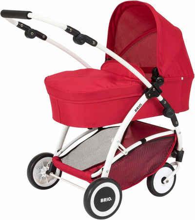 BRIO® Puppenwagen mit Schwenkrädern, »Spin, rot«