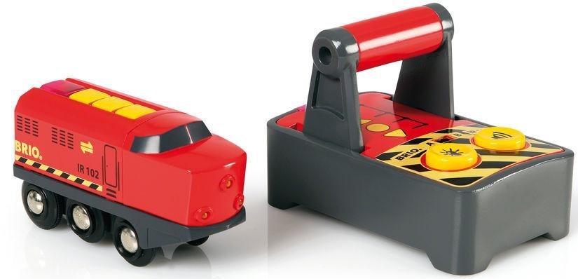 Brio Spielzeug Eisenbahn Brio World Ir Frachtlok Mit Licht Und Soundfunktion Online Kaufen Otto