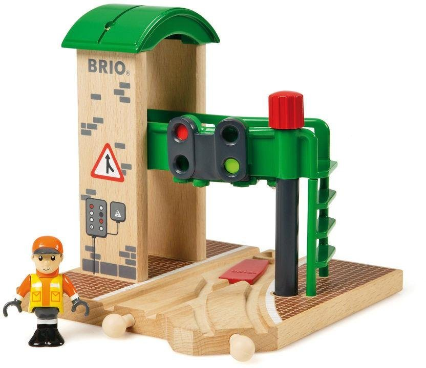 brio zubeh r f r spielzeugeisenbahn brio world signal station online kaufen otto. Black Bedroom Furniture Sets. Home Design Ideas