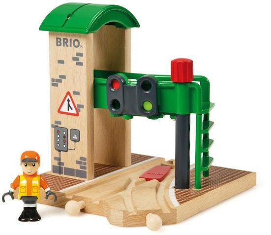 BRIO® Spielzeugeisenbahn-Gebäude »BRIO® WORLD Signal Station«