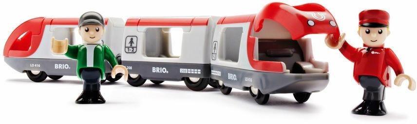 BRIO® Spielzeugeisenbahn,  BRIO® WORLD Roter Reisezug  online kaufen