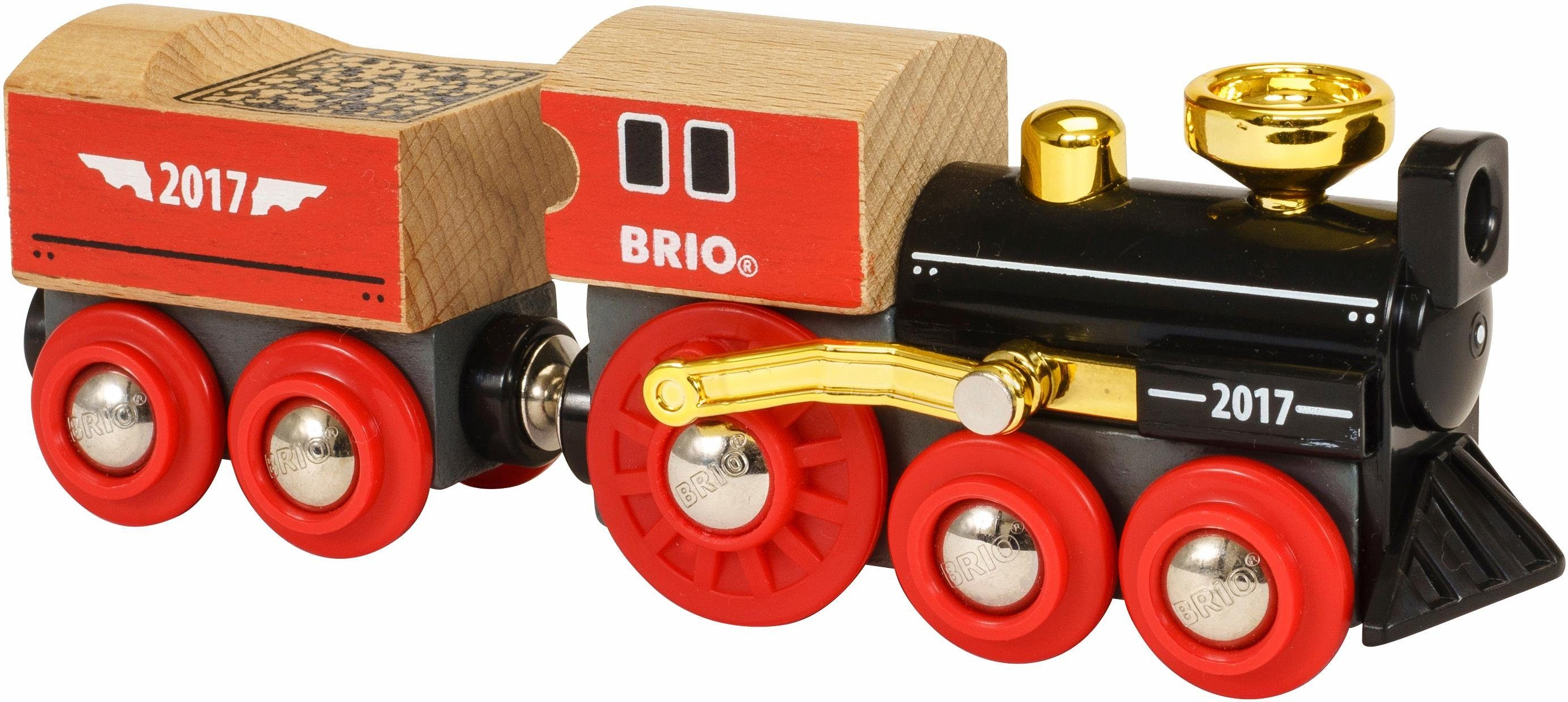 Brio Sammlermodell, »Brio WORLD Dampflok mit Tender, Limited Edition 17«
