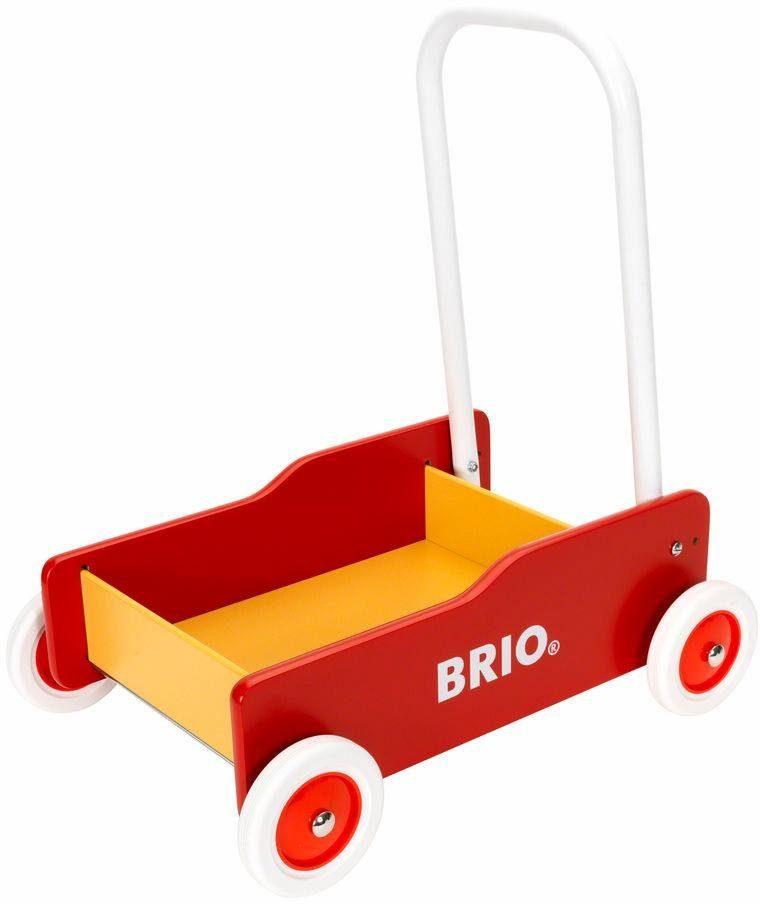 BRIO® Lauflernwagen »rot/gelb«, mit Griff und Bremse