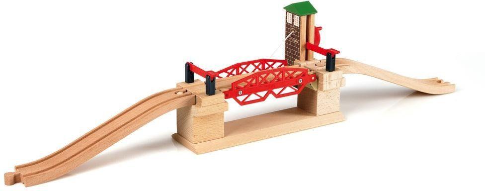 BRIO® Zubehör für Spielzeugeisenbahn, »BRIO® WORLD Hebebrücke «