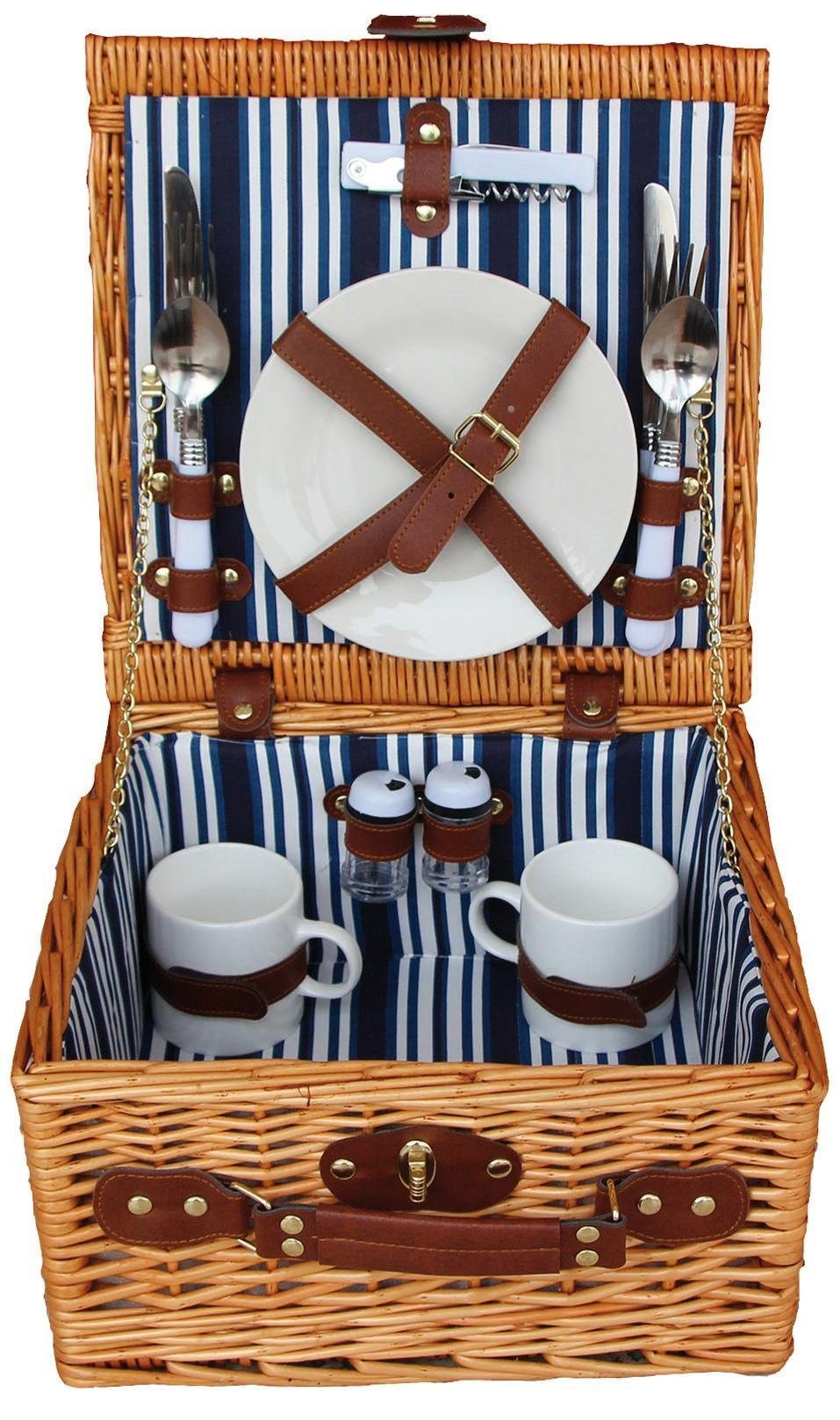 Home affaire Picknickkorb für 2 Personen