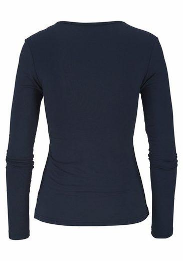 LASCANA Yoga & Relax Shirt mit Wickeloptik