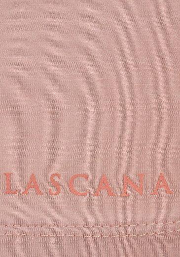LASCANA Yoga & Relax Top mit Wasserfallausschnitt
