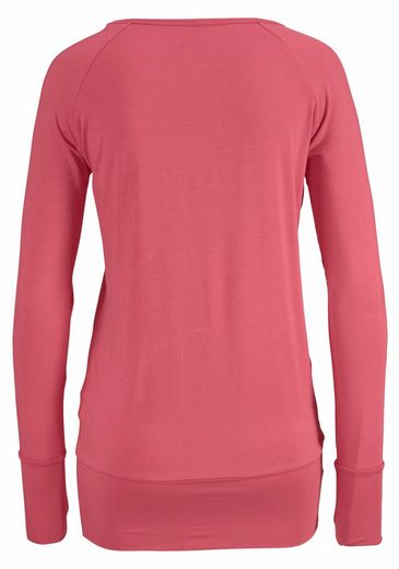 Lascana Yoga & Relax Shirt With Thumb Hole