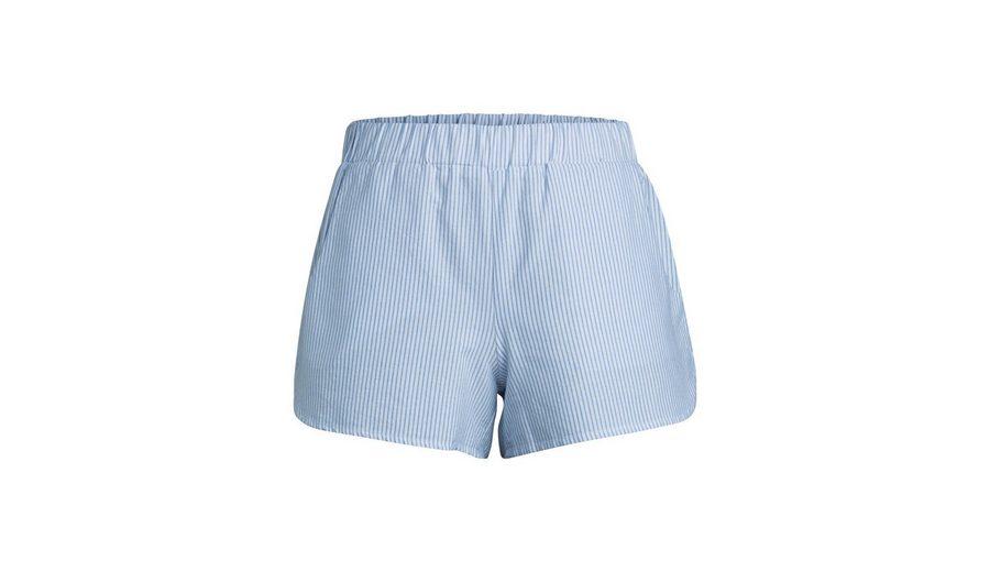 Pieces Lässige, gestreifte Shorts