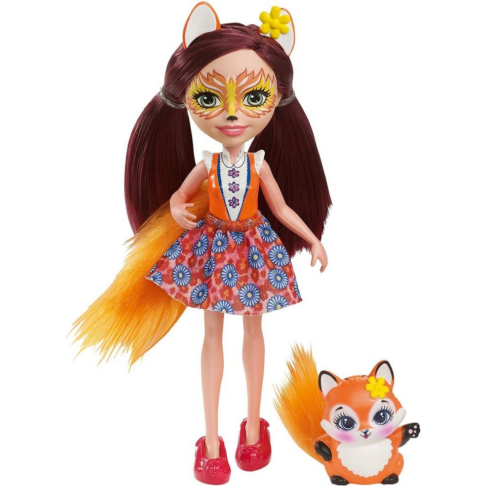 Mattel® Enchantimals Fuchsmädchen Felicity Fox