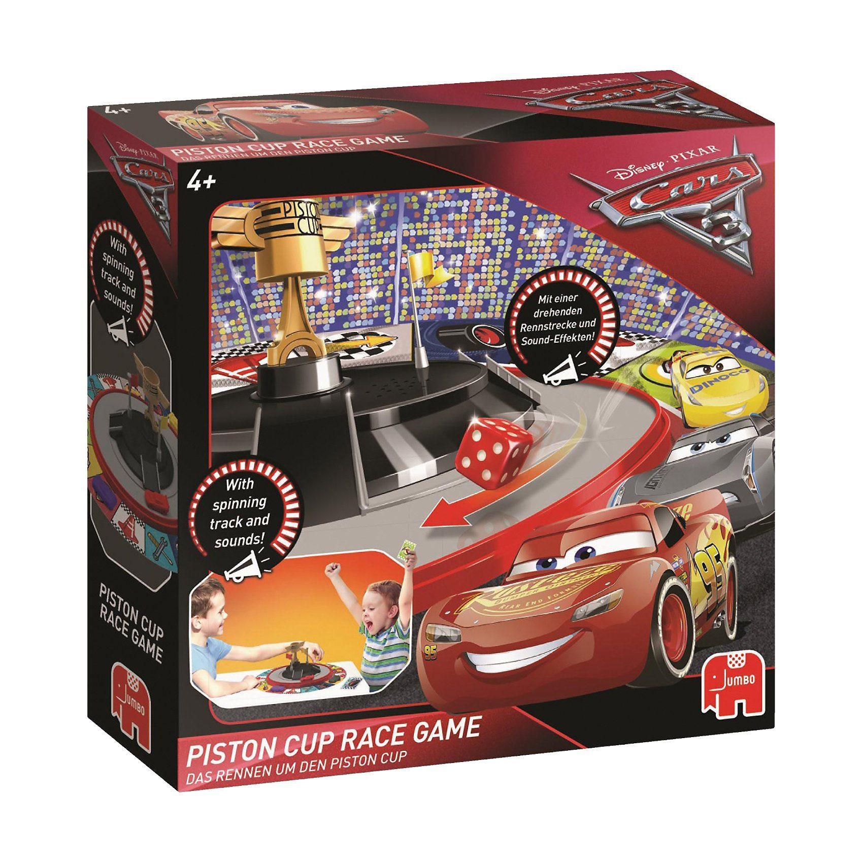 Jumbo Piston Cup Race Game - Cars 3