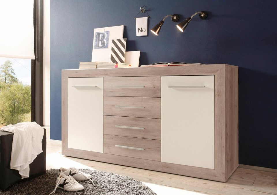 kombikommode mit 2 t ren online kaufen otto. Black Bedroom Furniture Sets. Home Design Ideas