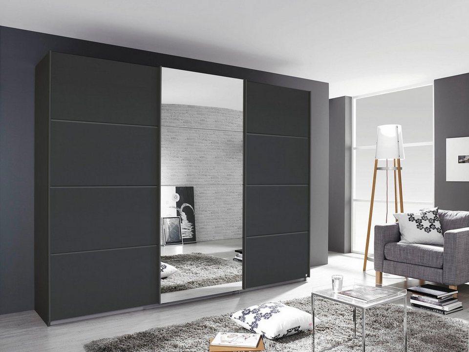 schwebet renschrank grau. Black Bedroom Furniture Sets. Home Design Ideas