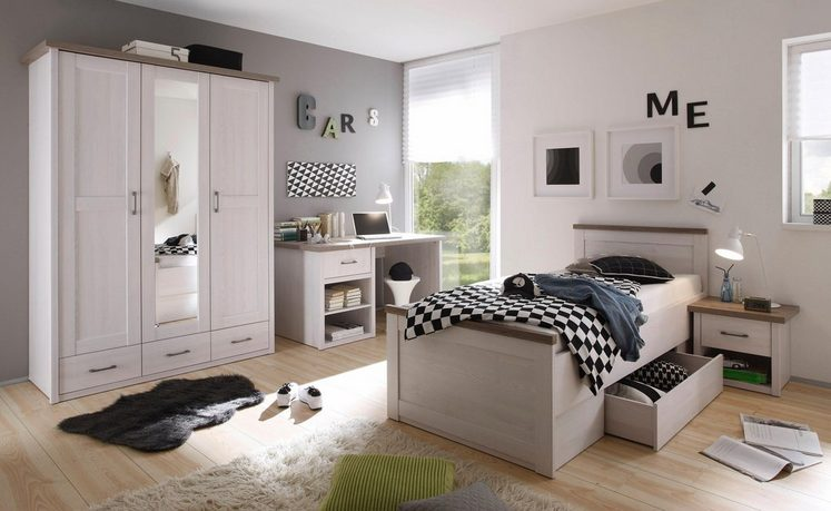 jugendzimmer marmstorf 4 tlg online kaufen otto. Black Bedroom Furniture Sets. Home Design Ideas