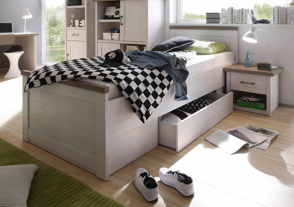 bett marmstorf inkl bettschubk sten kaufen otto. Black Bedroom Furniture Sets. Home Design Ideas