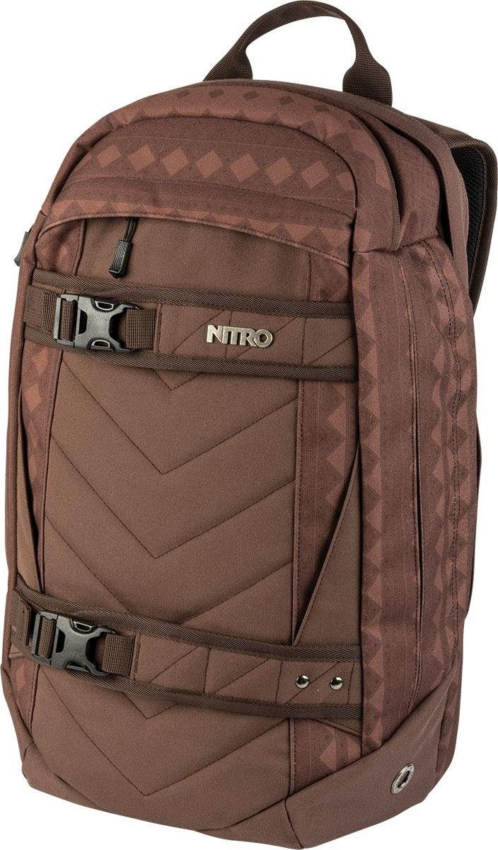 Nitro Schulrucksack, mit Laptopfach, »Aerial Northern Patch«