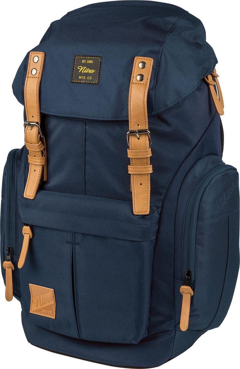 Nitro Rucksack mit Laptopfach, »Daypacker Indigo«