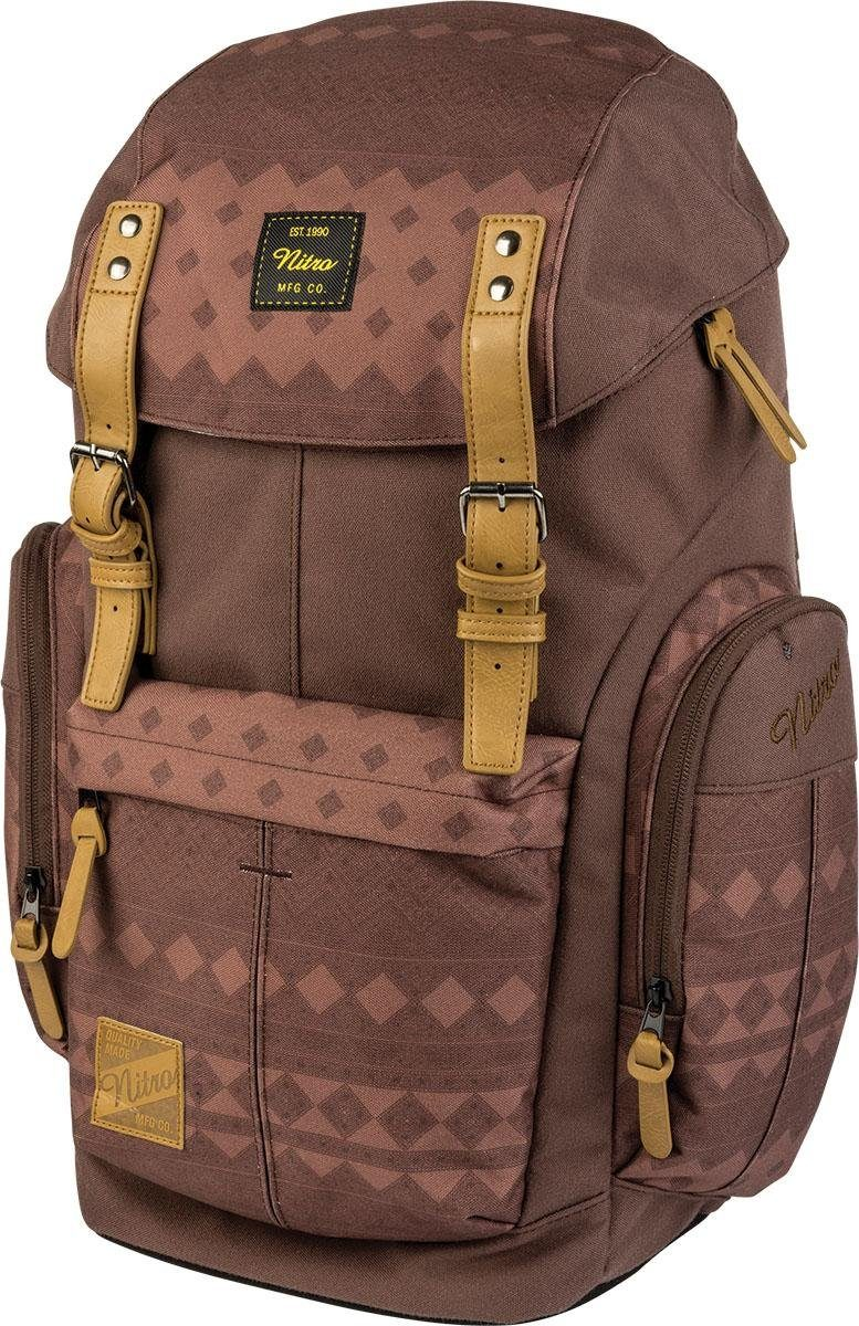 Nitro Rucksack mit Laptopfach, »Daypacker Northern Patch«