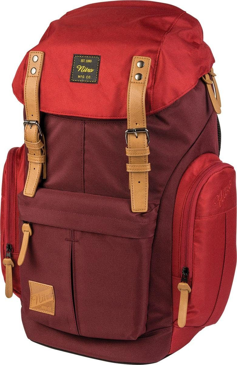 Nitro Rucksack mit Laptopfach, »Daypacker Chili«