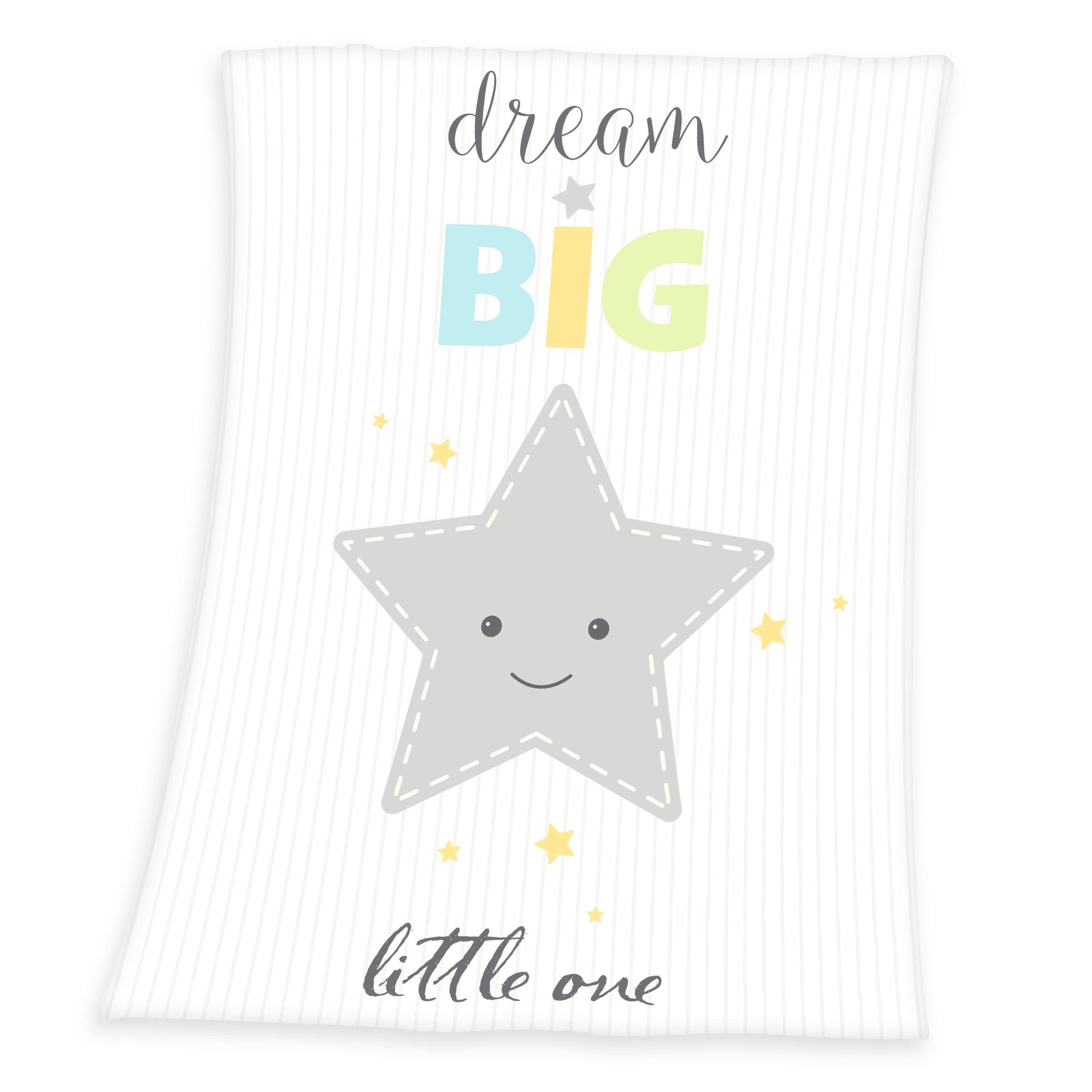 Babydecke, Herding, »Dream Big Star«, mit großem Stern