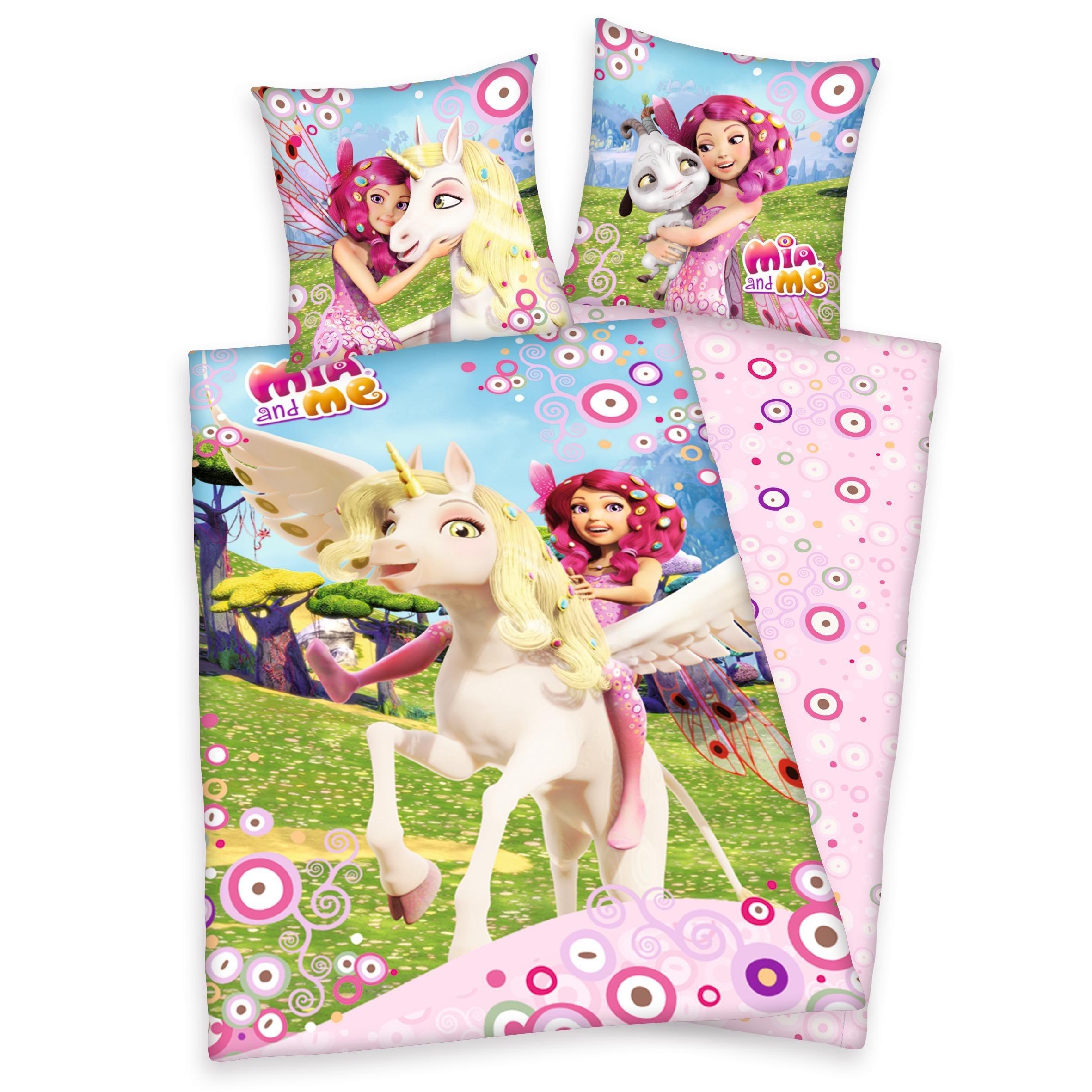 Kinderbettwäsche »Centopia«, mit Kreisen | Kinderzimmer > Textilien für Kinder > Kinderbettwäsche