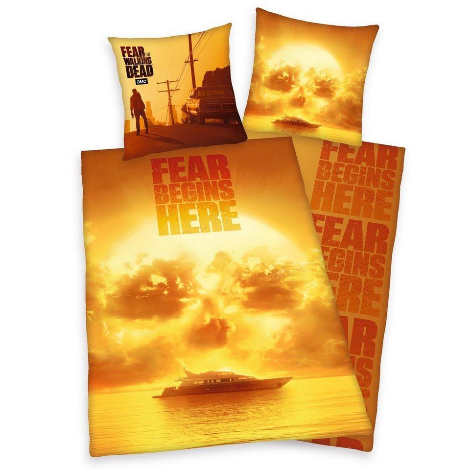 Jugendbettwäsche Fear The Walking Dead Sunrise Mit Fear The