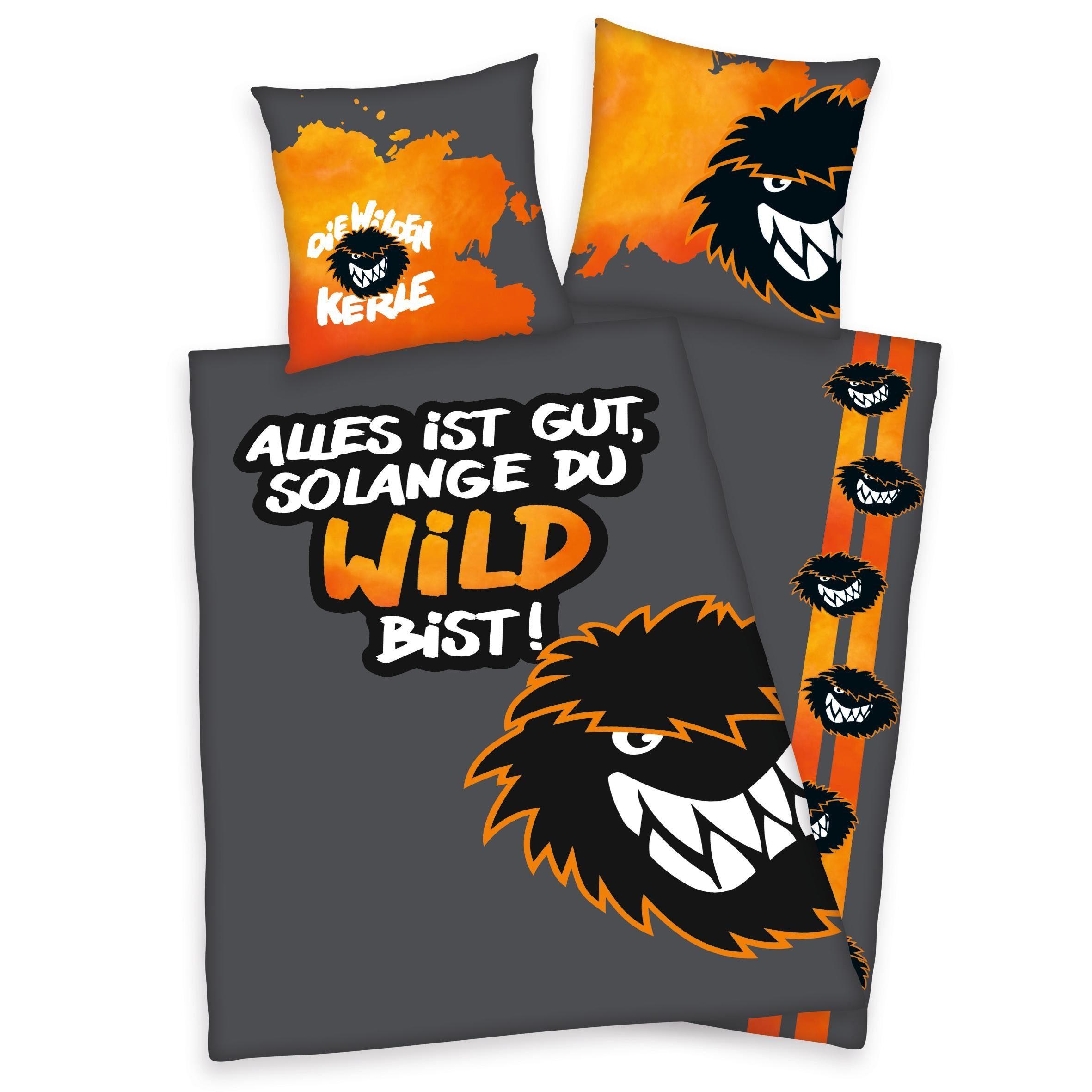 Kinderbettwäsche, Die Wilden Kerle, »Solange du Wild bist«, mit Wilde Kerle Logo