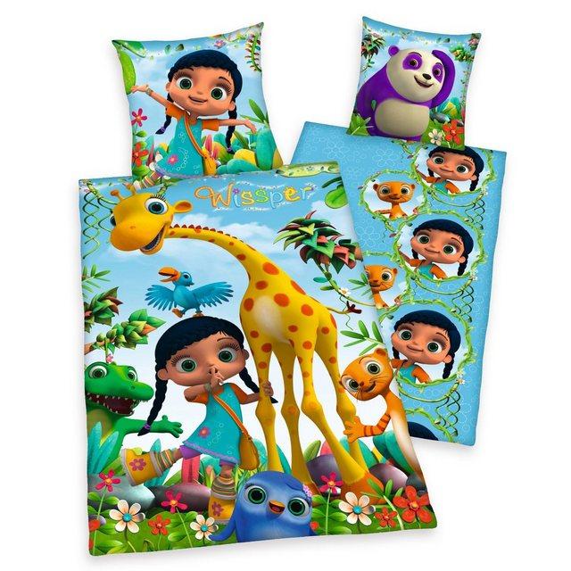 Kinderbettwäsche »Wissper und Freunde«, mit vielen Tieren   Kinderzimmer > Textilien für Kinder > Kinderbettwäsche   Baumwolle   OTTO
