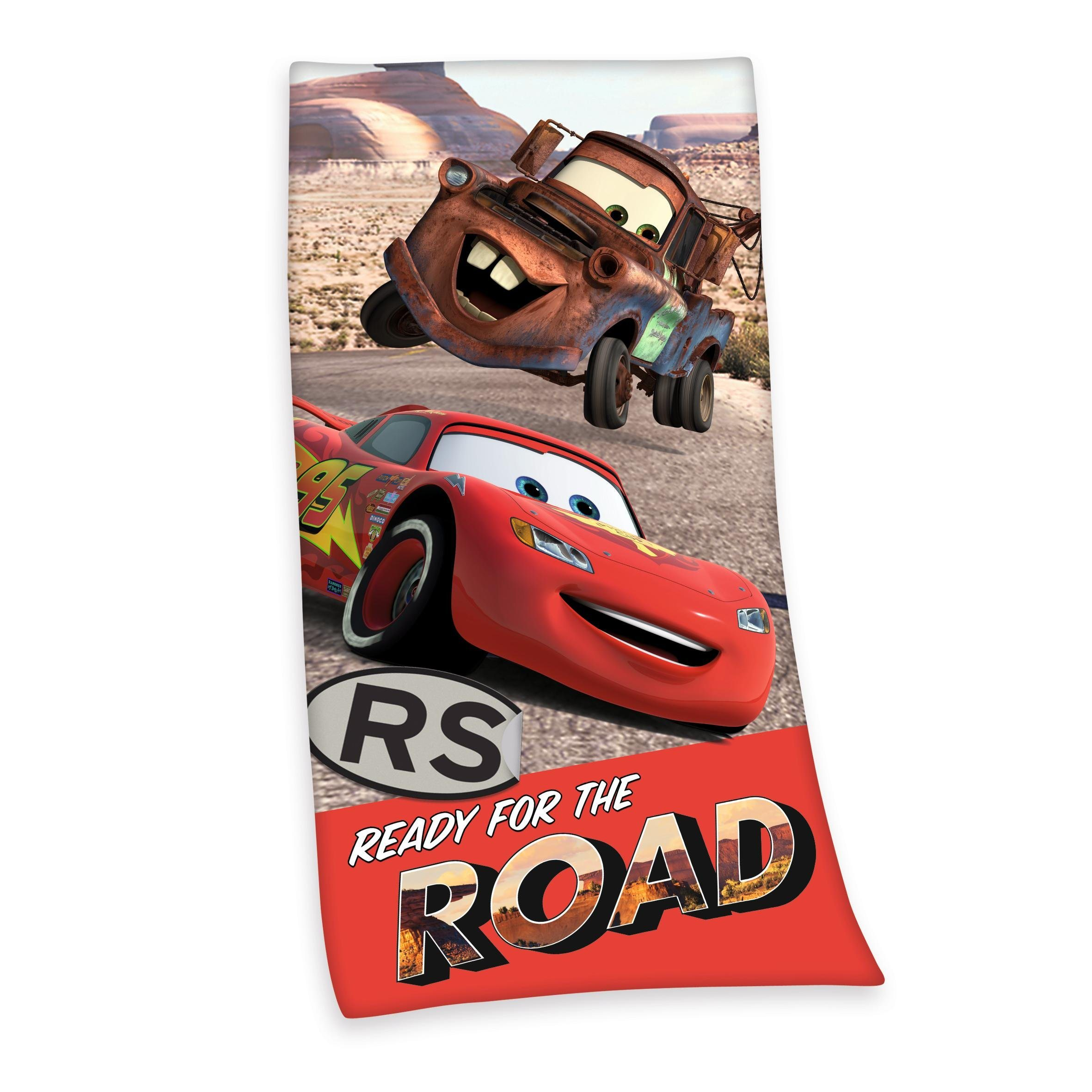 Badetuch, Walt Disney, »Road Cars«, mit Hook | Bad > Handtücher > Badetücher | Walt Disney