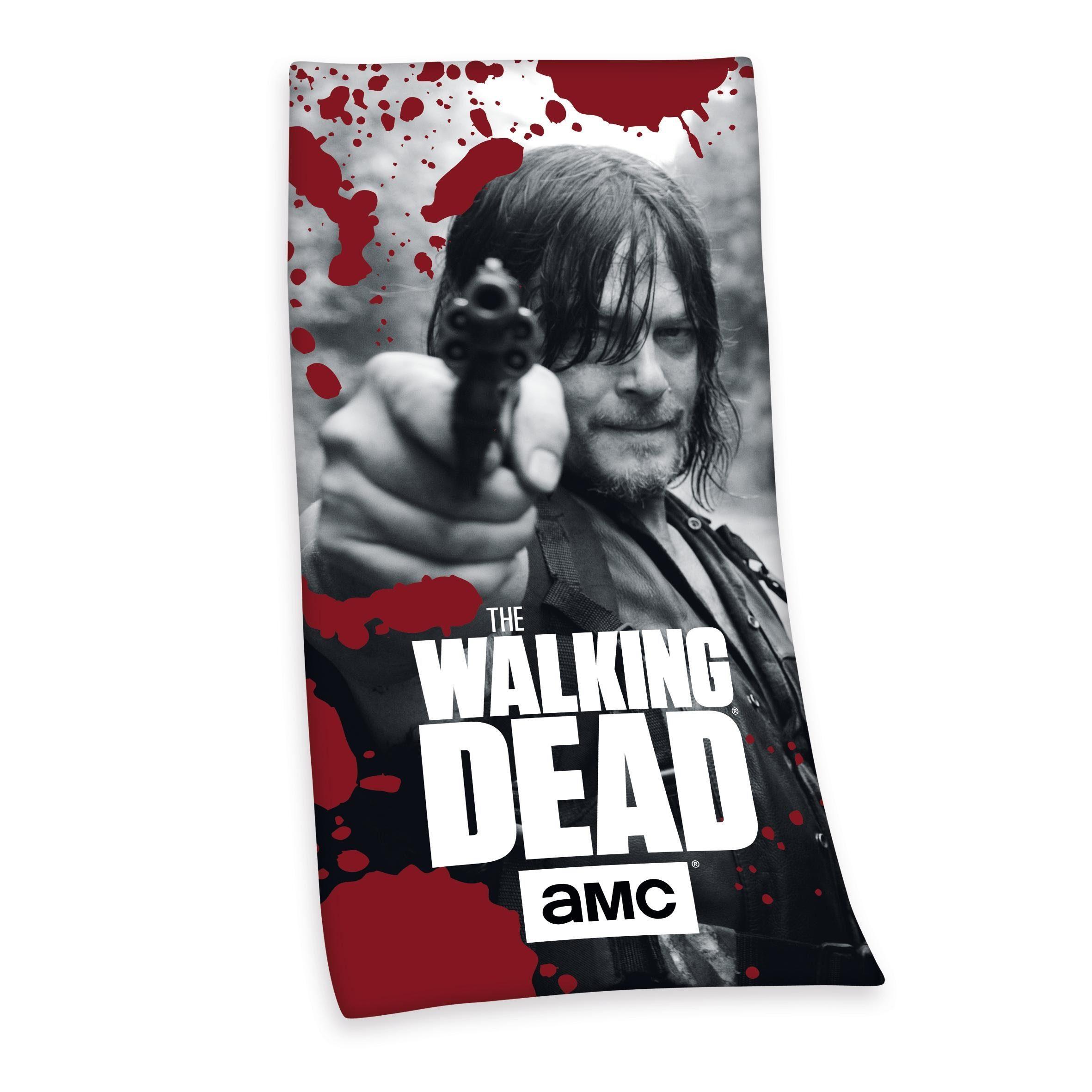 Badetuch, The walking dead, »Daryl Dixon«, in Schussposition