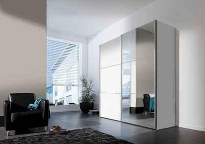 Kleiderschrank weiß schiebetüren spiegel  Kleiderschrank online kaufen » Schlafzimmerschrank | OTTO