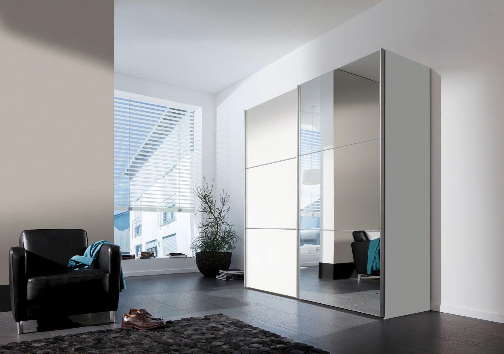 Express Solutions Schwebetürenschrank, mit Spiegel, Breite 200 cm oder 300 cm erhältlich