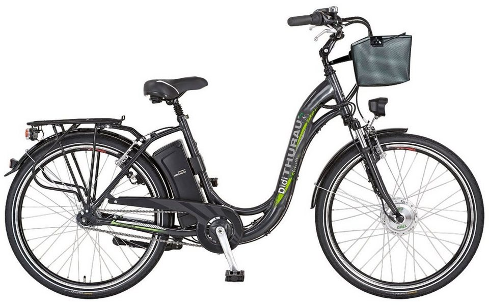 e bike city damen alu city comfort 28 zoll 3 gang frontmotor 2 akku online kaufen otto. Black Bedroom Furniture Sets. Home Design Ideas