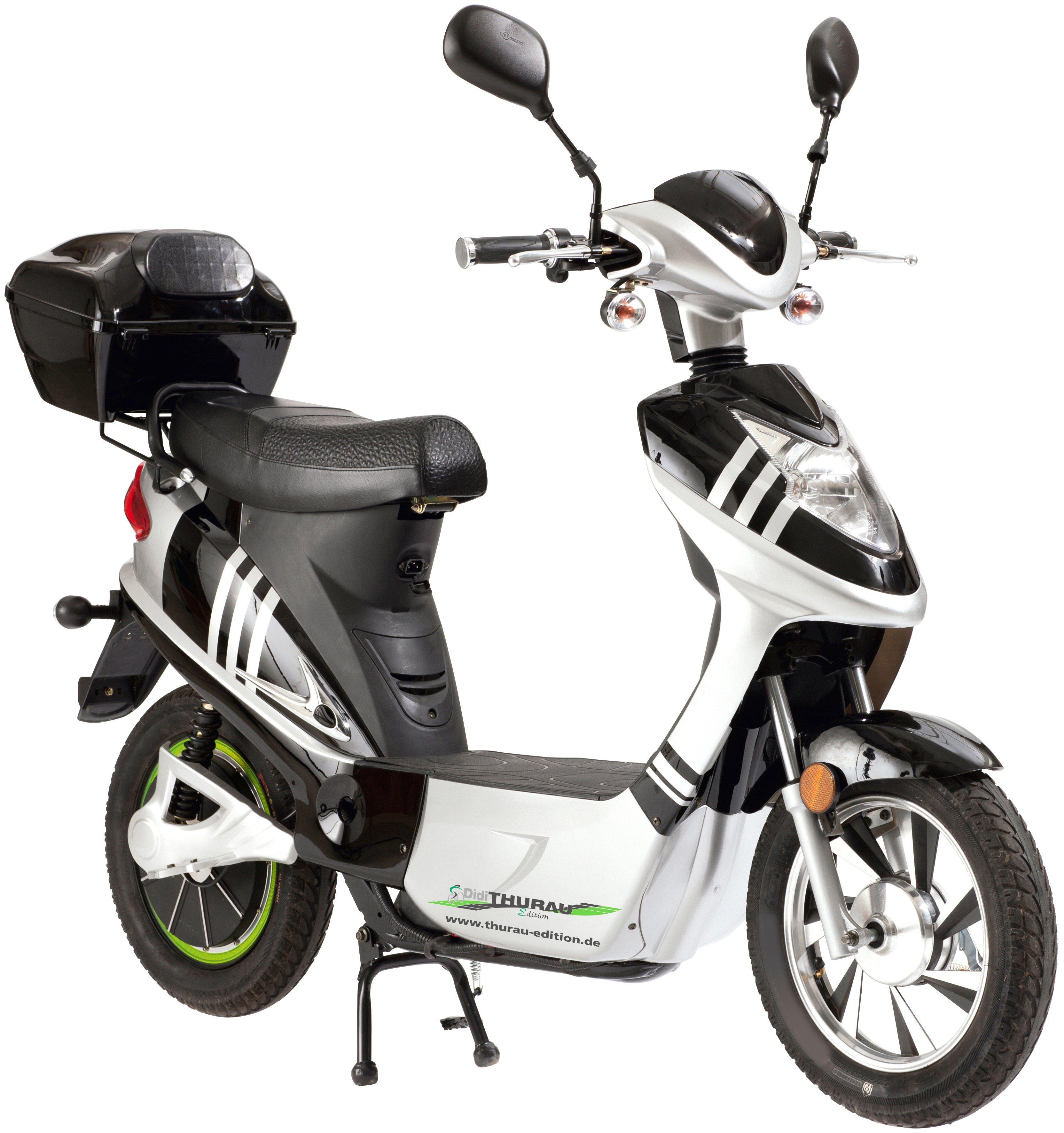 DIDI THURAU E-Scooter »City Star«, 20 km/h, Inkl. Rundum-Sorglos-Paket