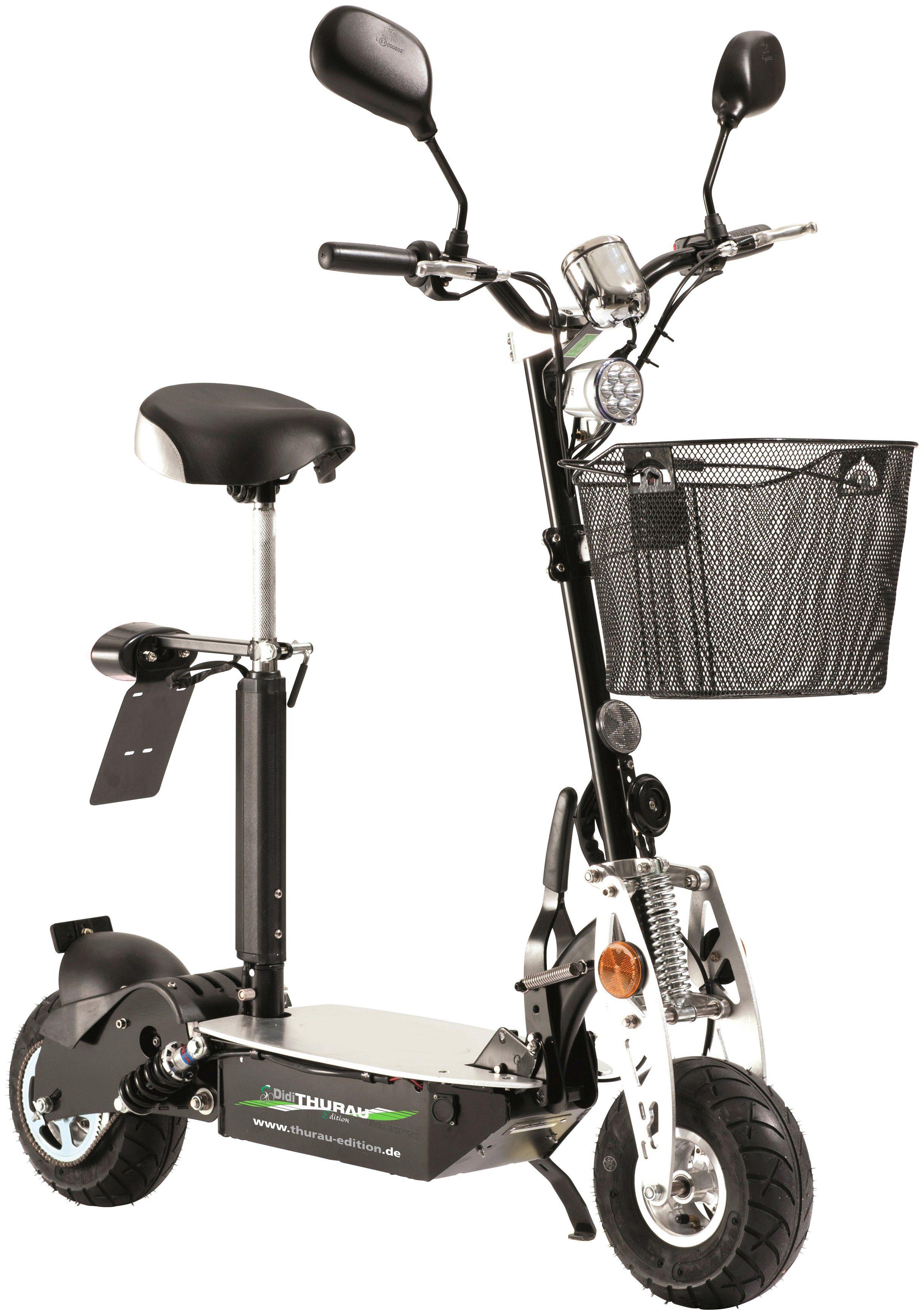 DIDI THURAU E-Scooter »City Roller Basic RSP«, 20 km/h, Inkl. Rundum-Sorglos-Paket