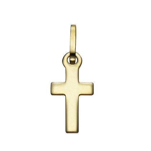 Vivance Anhänger »333/- Gelbgold Kreuz«
